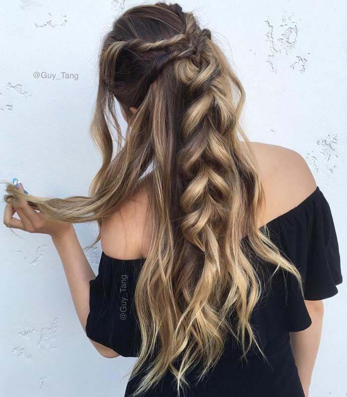 Χτενίσματα για μακριά μαλλιά που θα θέλετε να δοκιμάσετε αμέσως (18)