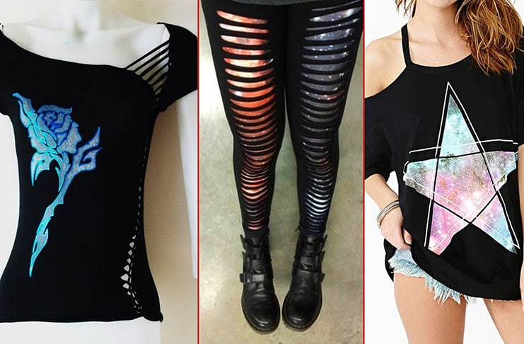 DIY ιδέες για να μεταμορφώσετε τα παλιά σας ρούχα