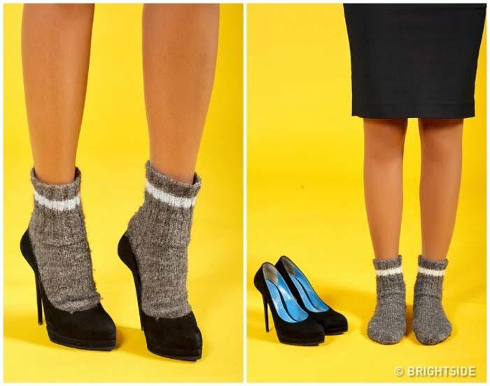 Έξυπνοι τρόποι για να μην σας χτυπάνε τα παπούτσια (4)