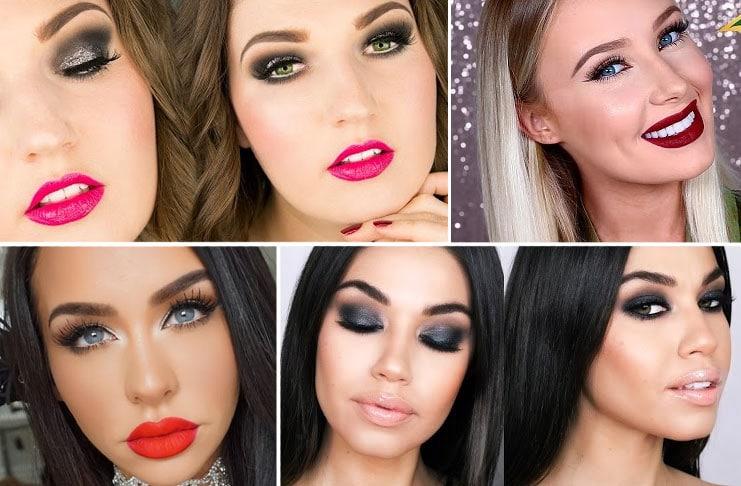 9 μακιγιάζ ιδανικά για την Πρωτοχρονιά και όχι μόνο