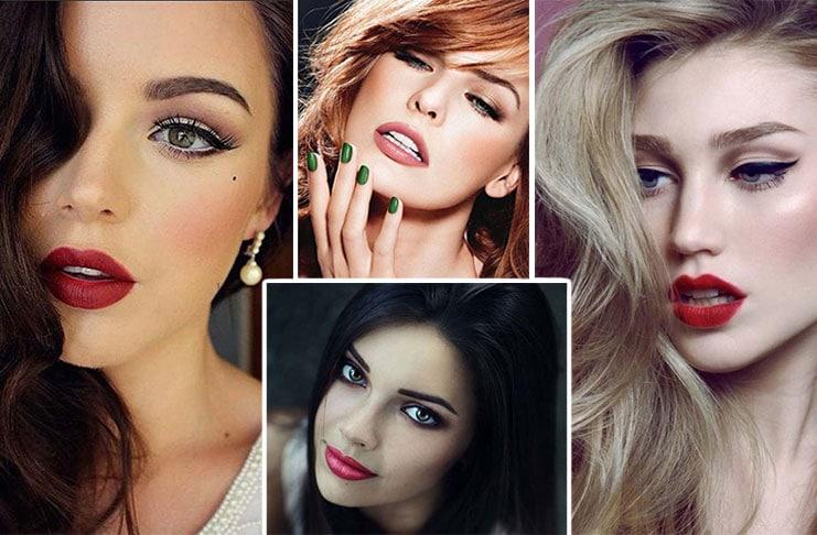 Προτάσεις μακιγιάζ για τις γιορτές ανάλογα με το χρώμα των μαλλιών σας (1)