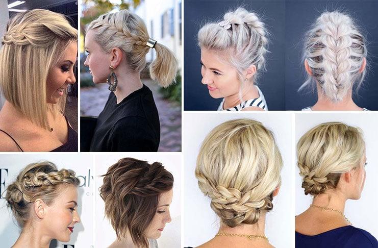 Χτενίσματα με πλεξούδες για κοντά μαλλιά (1)