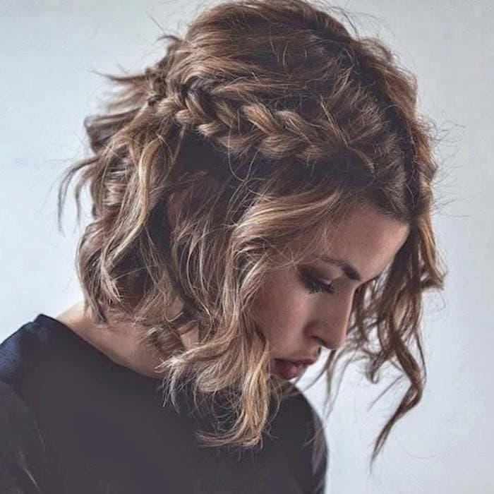 Χτενίσματα με πλεξούδες για κοντά μαλλιά (3)