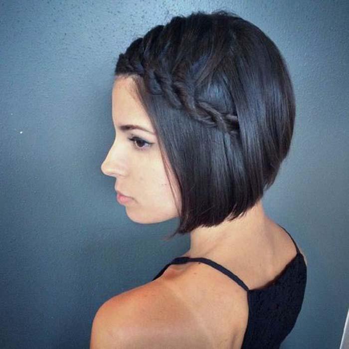 Χτενίσματα με πλεξούδες για κοντά μαλλιά (4)