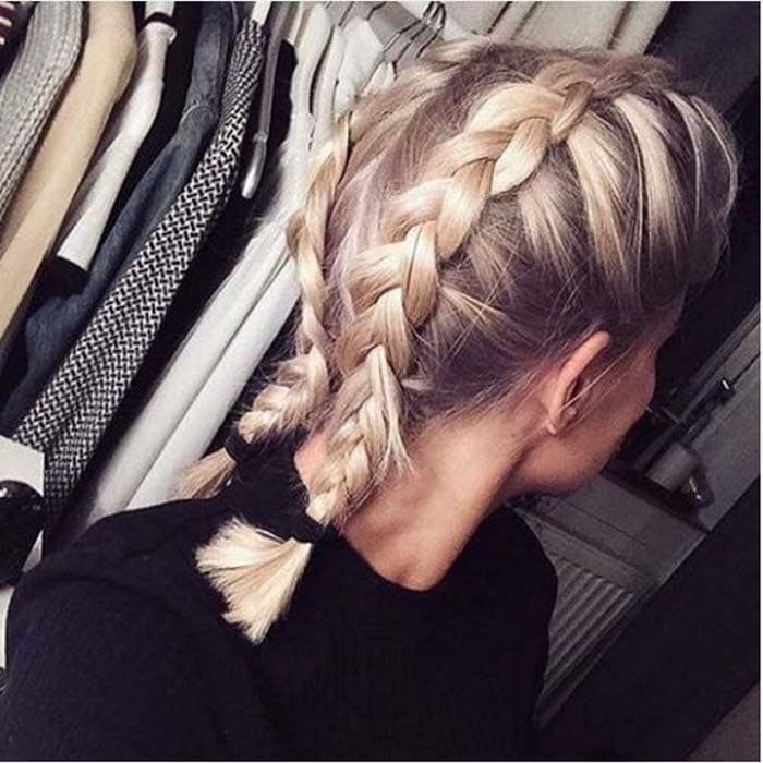 Χτενίσματα με πλεξούδες για κοντά μαλλιά (14)