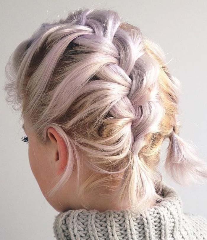 Χτενίσματα με πλεξούδες για κοντά μαλλιά (15)