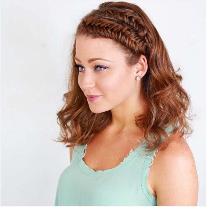 Χτενίσματα με πλεξούδες για κοντά μαλλιά (18)