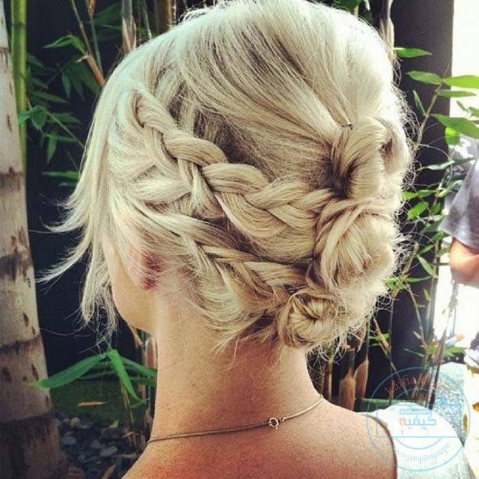 Χτενίσματα με πλεξούδες για κοντά μαλλιά (26)