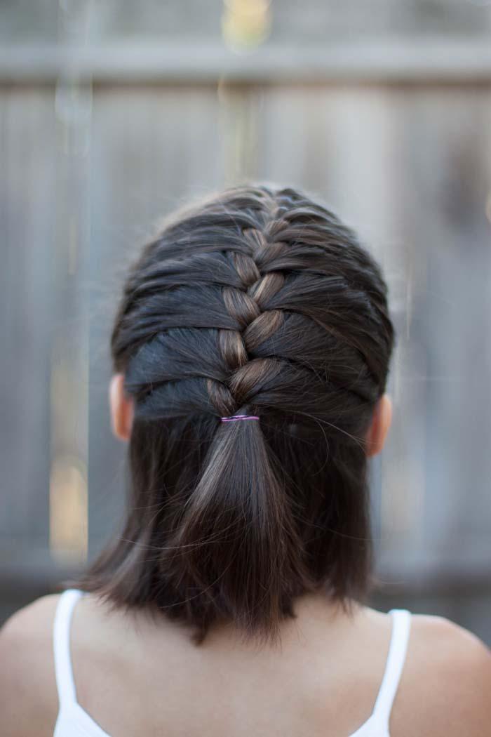 Χτενίσματα με πλεξούδες για κοντά μαλλιά (30)