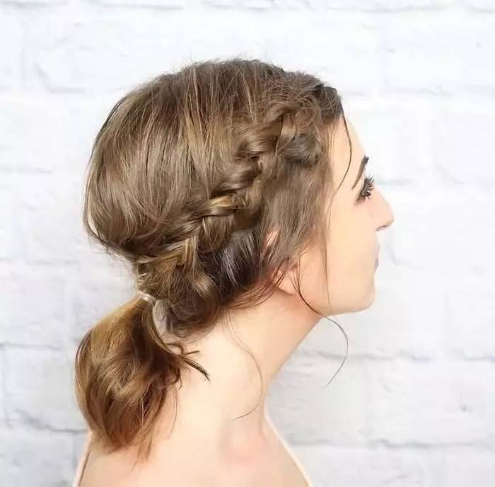 Χτενίσματα με πλεξούδες για κοντά μαλλιά (32)