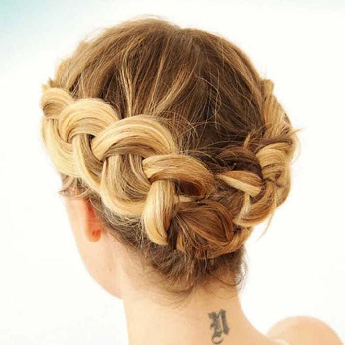 Χτενίσματα με πλεξούδες για κοντά μαλλιά (33)
