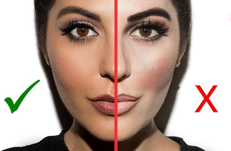 12 λάθη στο μακιγιάζ που συνηθίζετε και σας κάνουν να φαίνεστε μεγαλύτερη