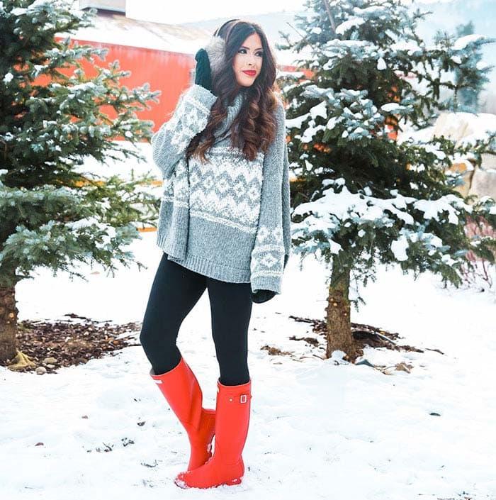 Εντυπωσιακά σύνολα για τις χιονισμένες μέρες (2)