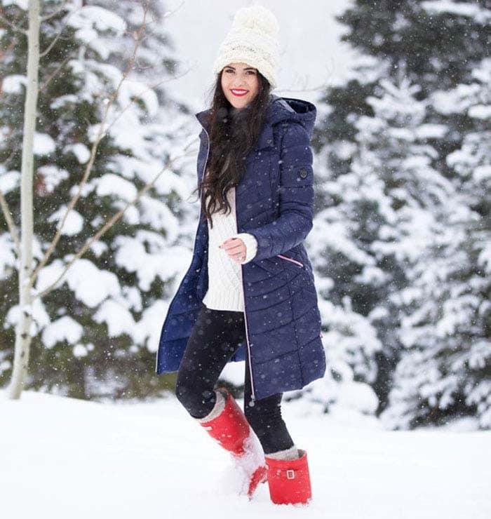 Εντυπωσιακά σύνολα για τις χιονισμένες μέρες (6)