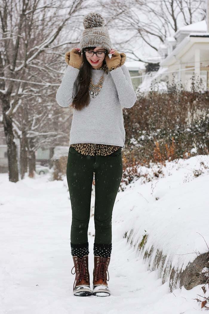 Εντυπωσιακά σύνολα για τις χιονισμένες μέρες (10)