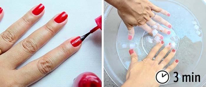Τρικ για εκπληκτικό μανικιούρ και όμορφα νύχια (5)