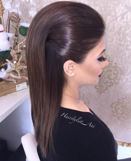Σαγηνευτικά χτενίσματα για ίσια μαλλιά που θα σας κάνουν να ξεχωρίσετε (8)