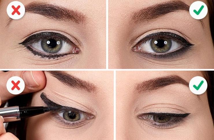 10 λάθη που καταστρέφουν τo Winged Eyeliner (1)