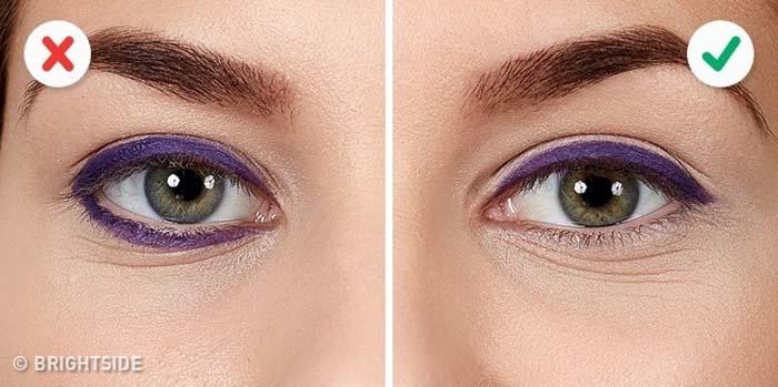 10 λάθη που καταστρέφουν τo Winged Eyeliner (3)