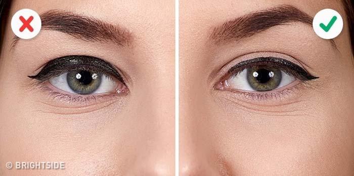 10 λάθη που καταστρέφουν τo Winged Eyeliner (4)