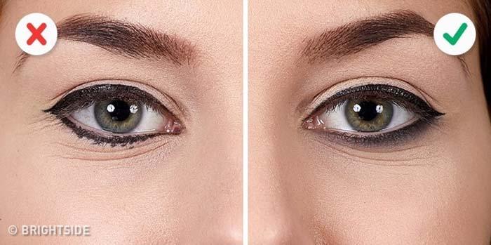 10 λάθη που καταστρέφουν τo Winged Eyeliner (5)