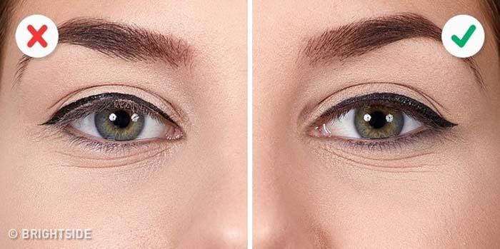 10 λάθη που καταστρέφουν τo Winged Eyeliner (7)