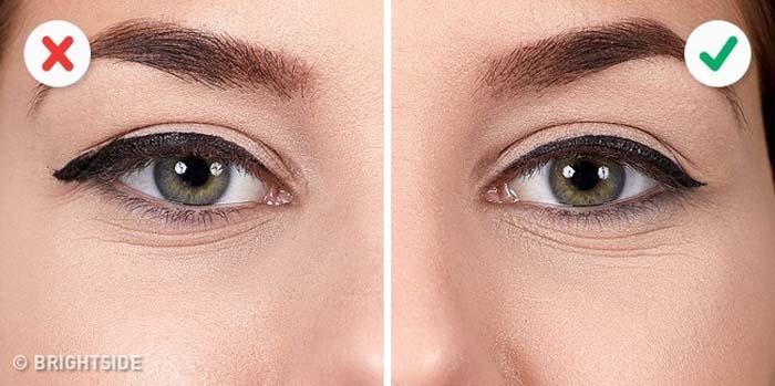10 λάθη που καταστρέφουν τo Winged Eyeliner (8)