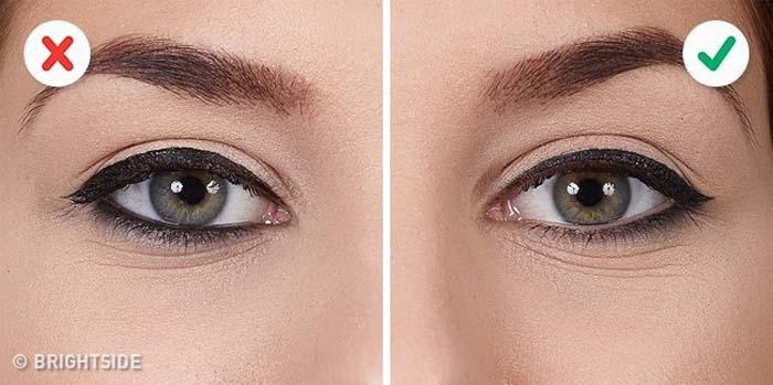 10 λάθη που καταστρέφουν τo Winged Eyeliner (10)