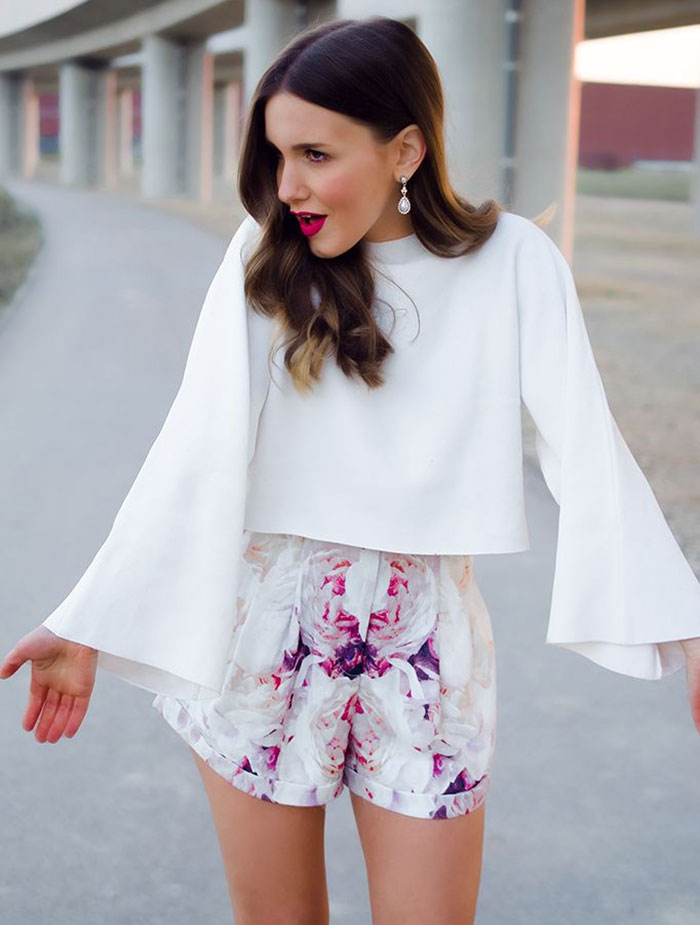 Ιδέες για να φορέσετε μανίκια καμπάνα (2)