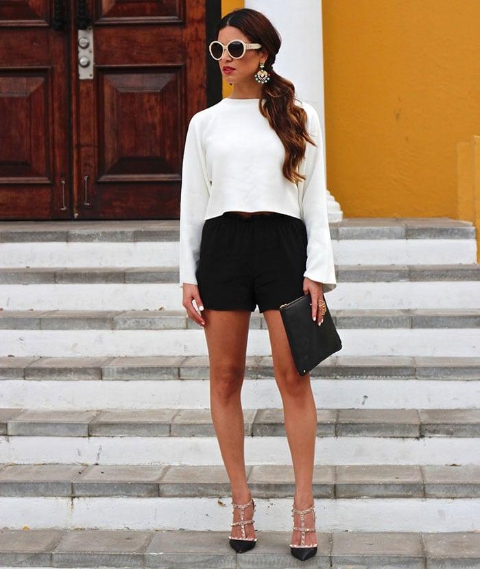 Ιδέες για να φορέσετε μανίκια καμπάνα (3)