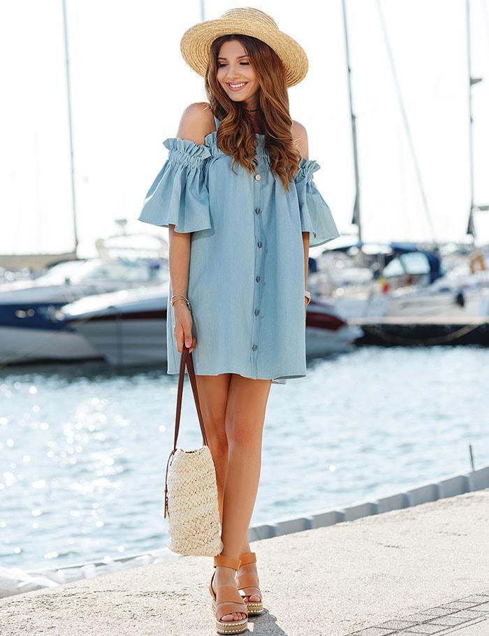 Ιδέες για να φορέσετε μανίκια καμπάνα (10)