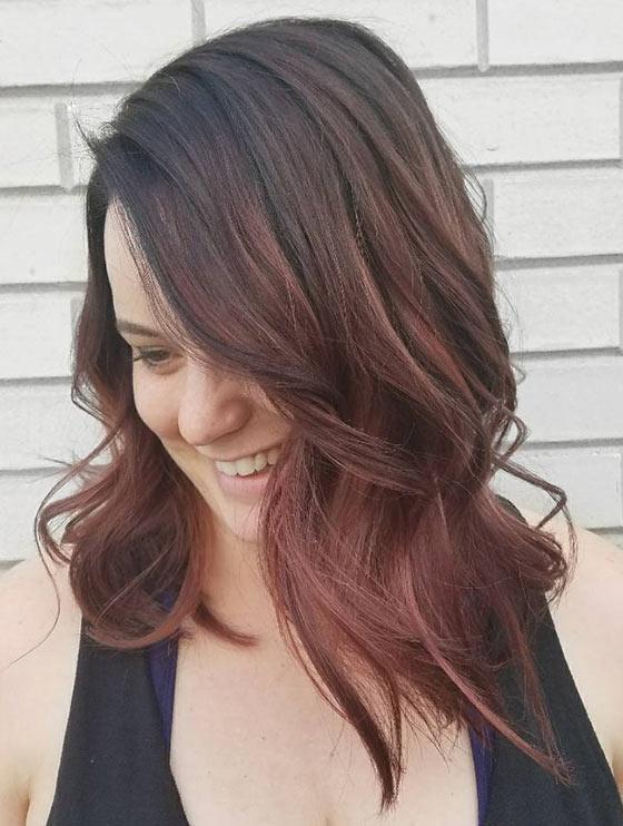 Mahogany: 20 υπέροχες αποχρώσεις για καστανοκόκκινα μαλλιά (2)