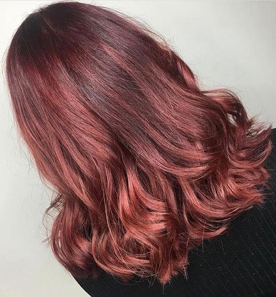 Mahogany: 20 υπέροχες αποχρώσεις για καστανοκόκκινα μαλλιά (3)