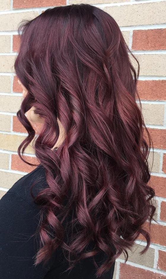Mahogany: 20 υπέροχες αποχρώσεις για καστανοκόκκινα μαλλιά (10)