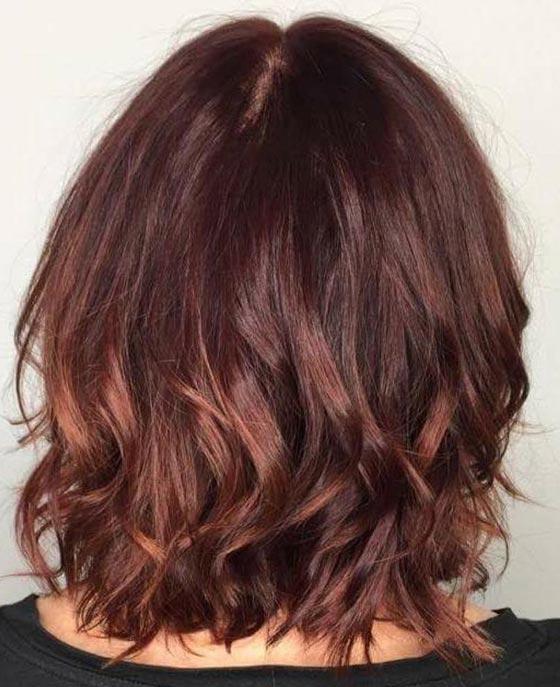 Mahogany: 20 υπέροχες αποχρώσεις για καστανοκόκκινα μαλλιά (8)