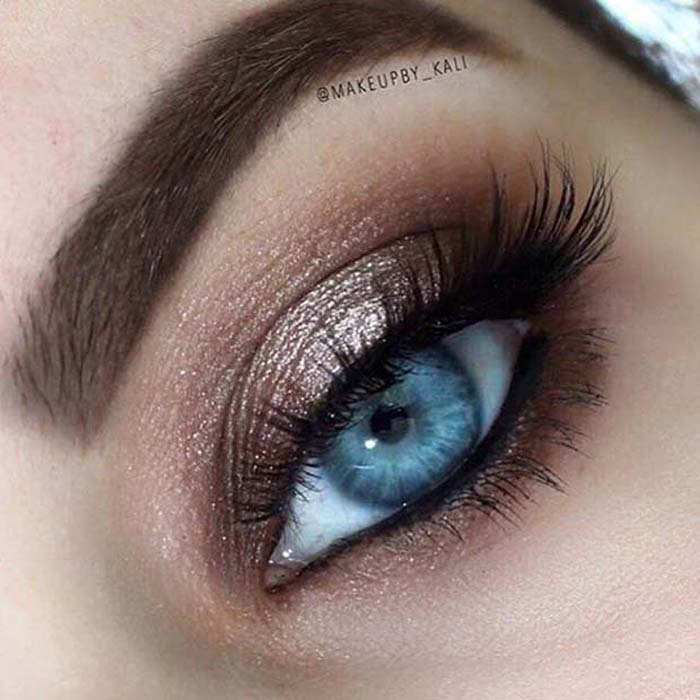 Μακιγιάζ για γαλάζια μάτια (24)