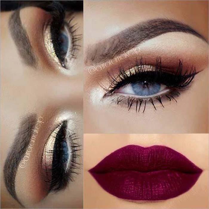 Μακιγιάζ για γαλάζια μάτια (25)