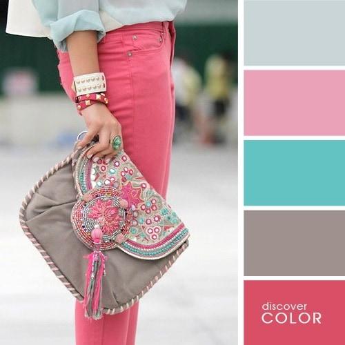 Ιδανικοί χρωματικοί συνδυασμοί για να δείχνετε υπέροχη (2)