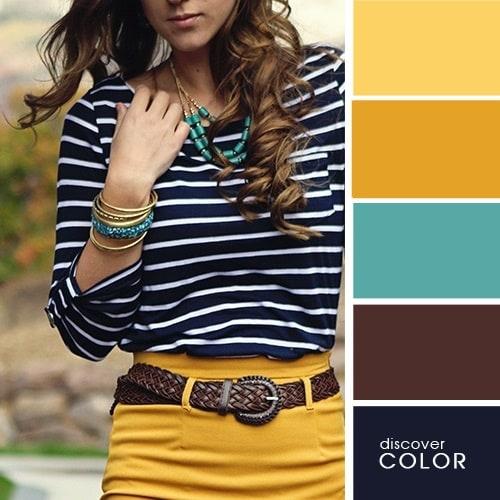 Ιδανικοί χρωματικοί συνδυασμοί για να δείχνετε υπέροχη (5)