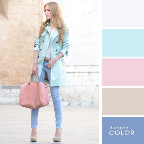 Ιδανικοί χρωματικοί συνδυασμοί για να δείχνετε υπέροχη (7)