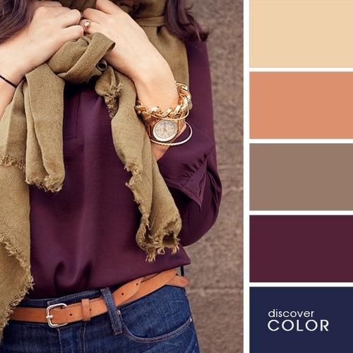 Ιδανικοί χρωματικοί συνδυασμοί για να δείχνετε υπέροχη (8)