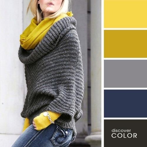 Ιδανικοί χρωματικοί συνδυασμοί για να δείχνετε υπέροχη (12)
