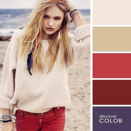 Ιδανικοί χρωματικοί συνδυασμοί για να δείχνετε υπέροχη (16)