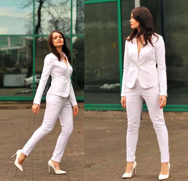 Total white looks: 15+1 υπέροχα σύνολα για εντυπωσιακές εμφανίσεις (2)
