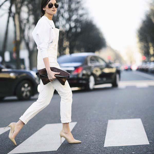 Total white looks: 15+1 υπέροχα σύνολα για εντυπωσιακές εμφανίσεις (3)