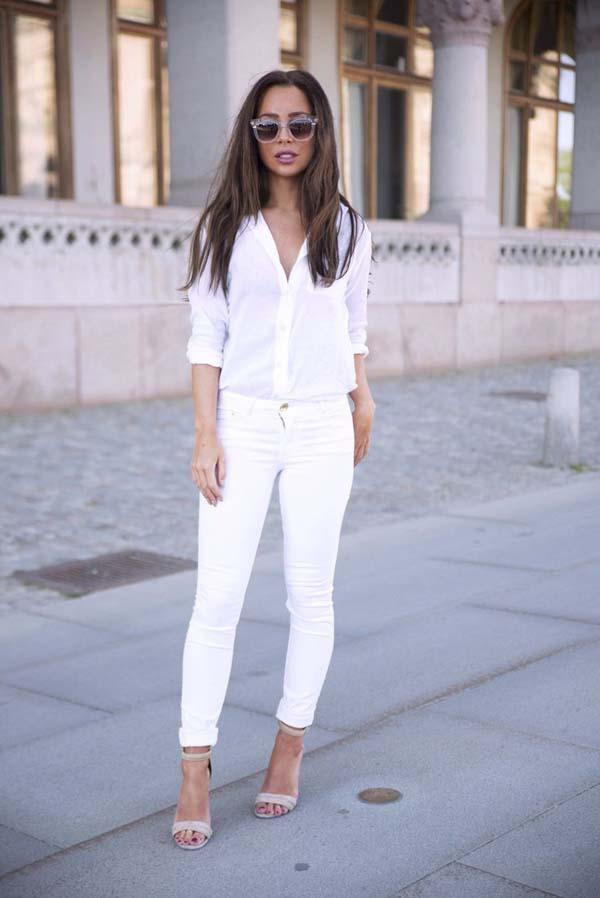 Total white looks: 15+1 υπέροχα σύνολα για εντυπωσιακές εμφανίσεις (5)