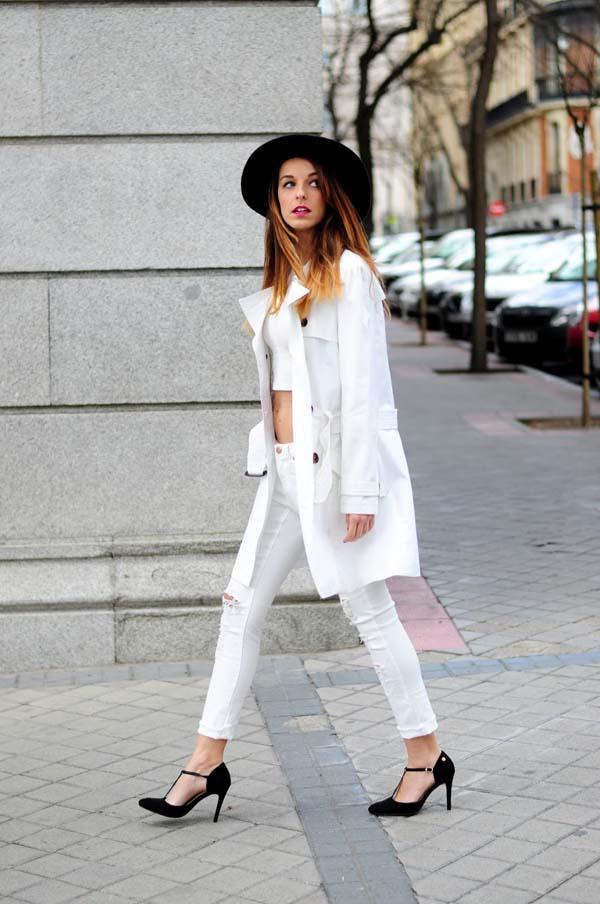 Total white looks: 15+1 υπέροχα σύνολα για εντυπωσιακές εμφανίσεις (8)