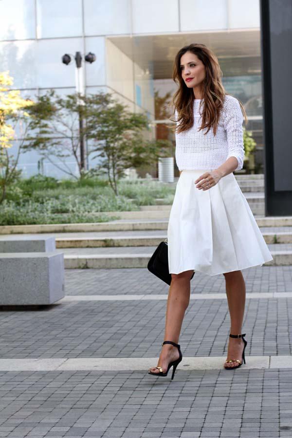 Total white looks: 15+1 υπέροχα σύνολα για εντυπωσιακές εμφανίσεις (10)