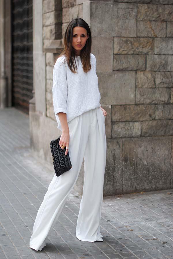 Total white looks: 15+1 υπέροχα σύνολα για εντυπωσιακές εμφανίσεις (12)