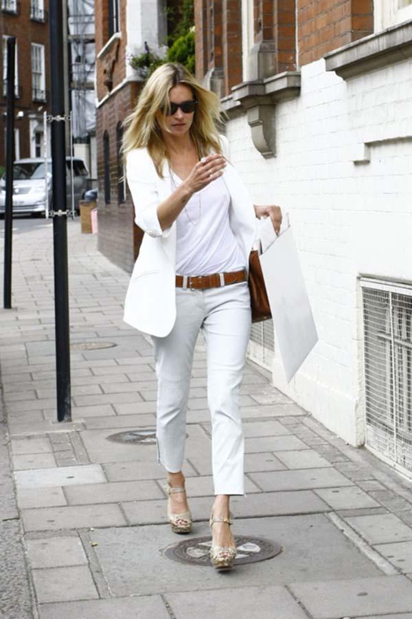 Total white looks: 15+1 υπέροχα σύνολα για εντυπωσιακές εμφανίσεις (16)